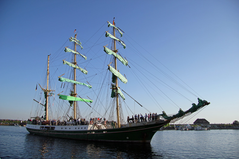 Jade-Weser-Port-Cup 2011. Alexander von Humboldt 1