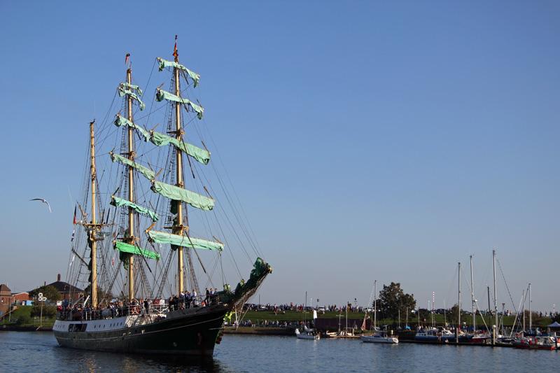 Jade-Weser-Port-Cup 2011.Alexander von Humboldt 1
