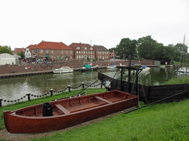 Mudderboot Hooksiel nach der Restauration 2015