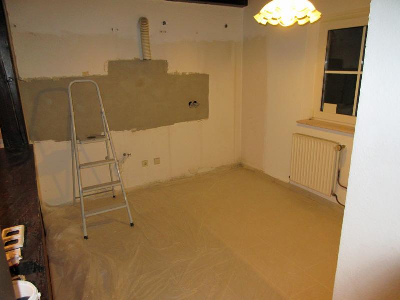 Haus Dörte wird renoviert!
