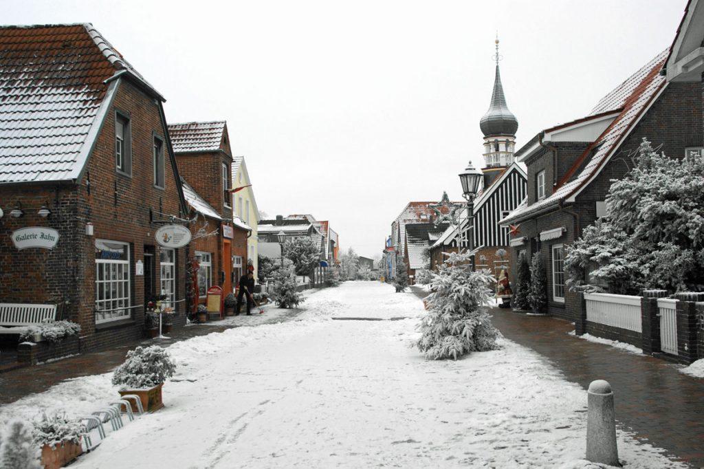 Weihnachten Wangerland